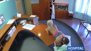 FakeHospital Hot sexy blonde gets probed and squirts