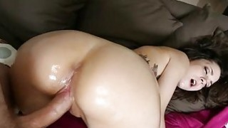 Curvy chick has been waiting for doggystyle sex