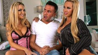 Dreamy Milf Threesome