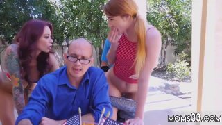 Blonde teen punished Awesome 4th Of July Threesome
