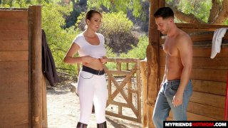 Hot Mom Brett Rossi Fucks Her Sons Friend